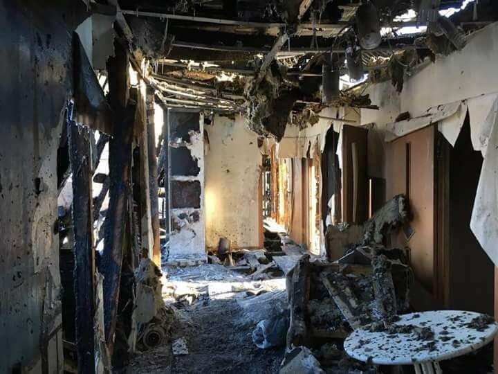 Brennendes Haus Russland 3