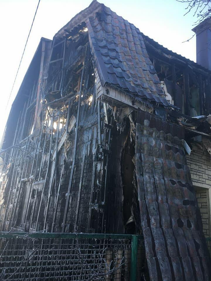 Brennendes Haus Russland 4